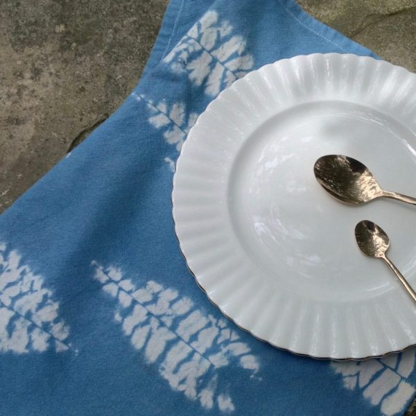 Shibori and Indigo table napkins